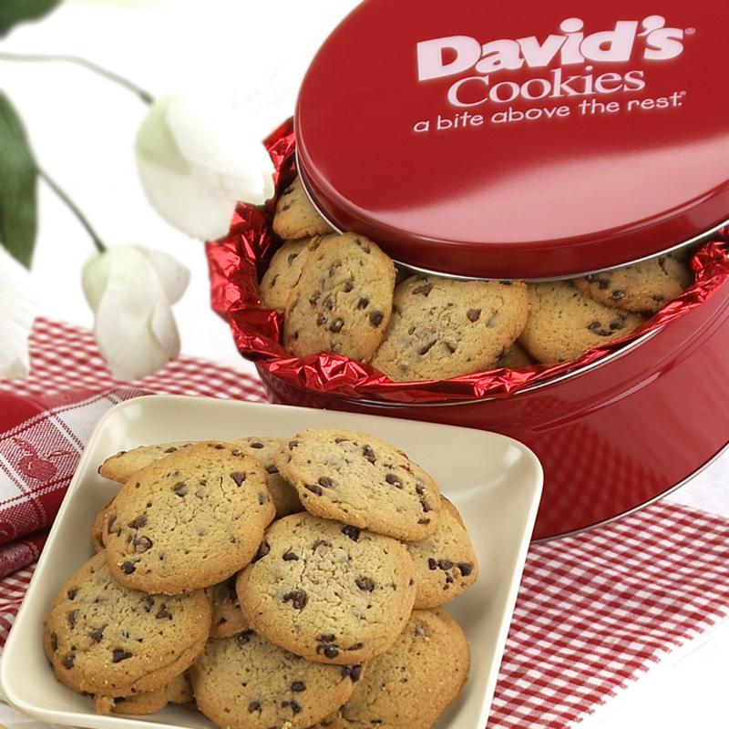 David's Cookies 2 lbs. Sugar-Free Chocolate Chip Cookies