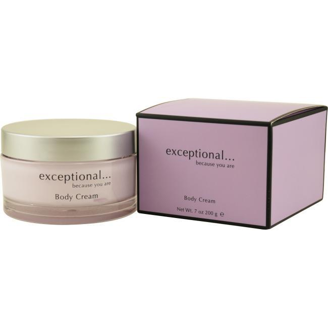 Exceptional Parfums 7 oz. Body Cream