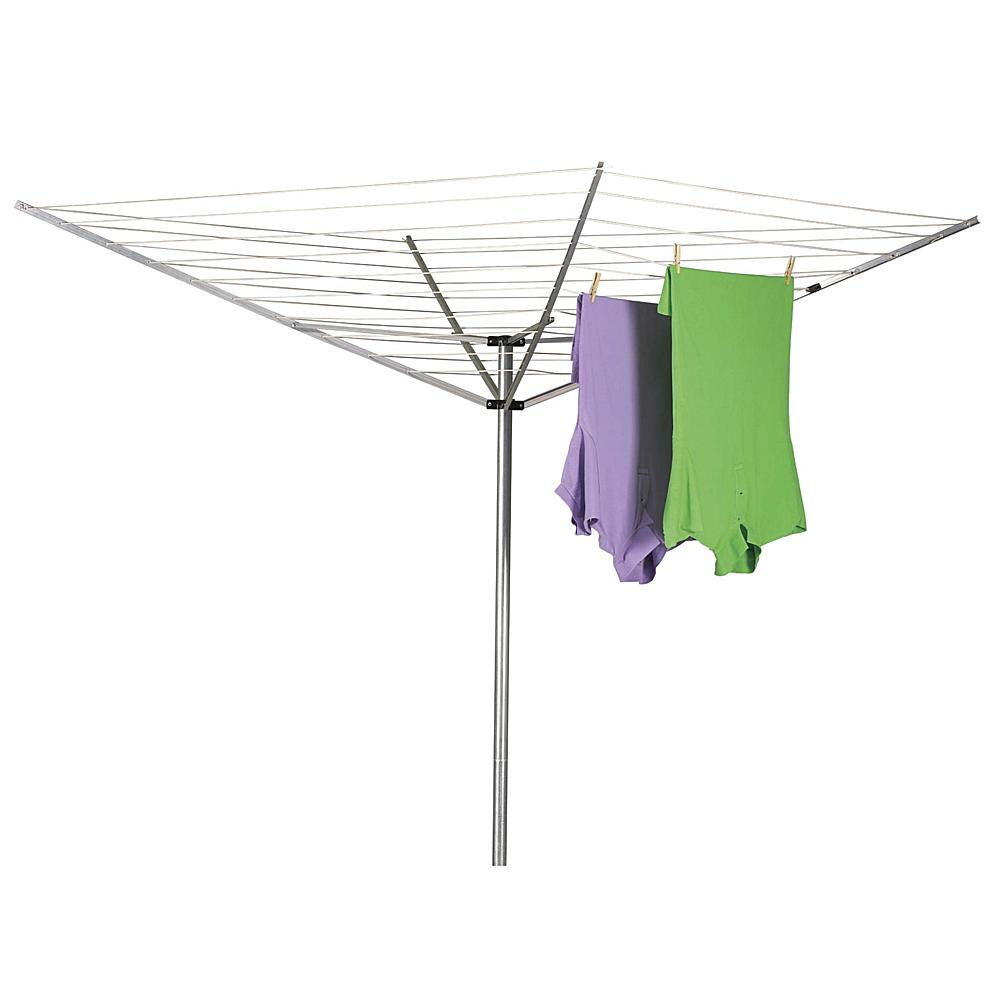 Discount clothing stores 1600 12-Line Outdoor Umbrella-Style Clothes Dryer