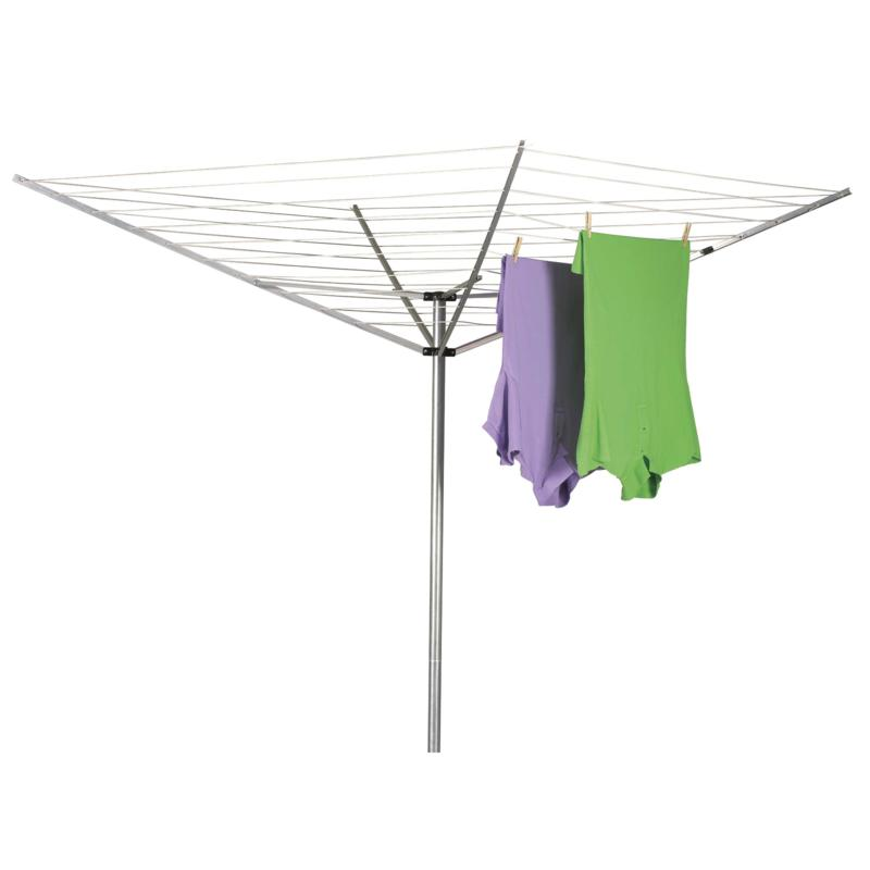 Household Essentials 1600 12-Line Outdoor Umbrella-Style Clothes Dryer