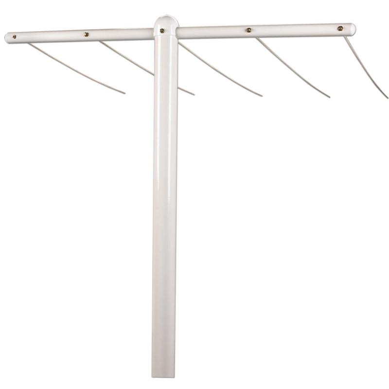 Household Essentials Extra Large Outdoor Steel Clothesline Post