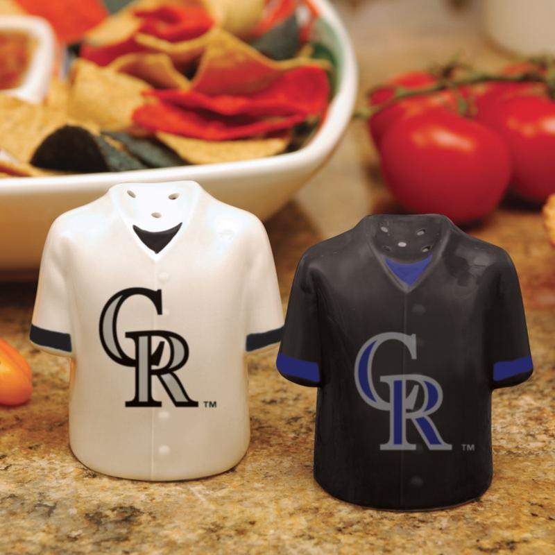 MEMORY Company Gameday Ceramic Salt and Pepper Shakers - Colorado Rockies