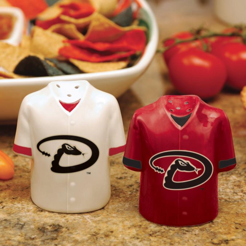 MEMORY Company Gameday Ceramic Salt and Pepper Shakers - Arizona Diamondbacks