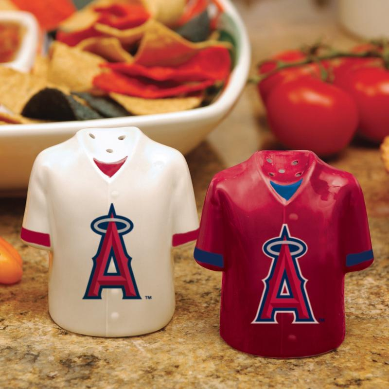 MEMORY Company Gameday Ceramic Salt and Pepper Shakers - Los Angeles Angels of Anaheim