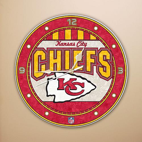 Wall Clock - Kansas City Chiefs