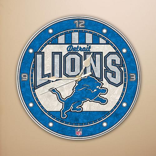 Wall Clock - Detroit Lions