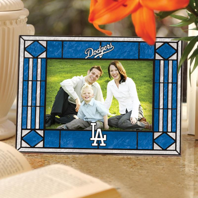 MEMORY Company Sports Team Art Glass Horizontal Picture Frame - LA Dodgers