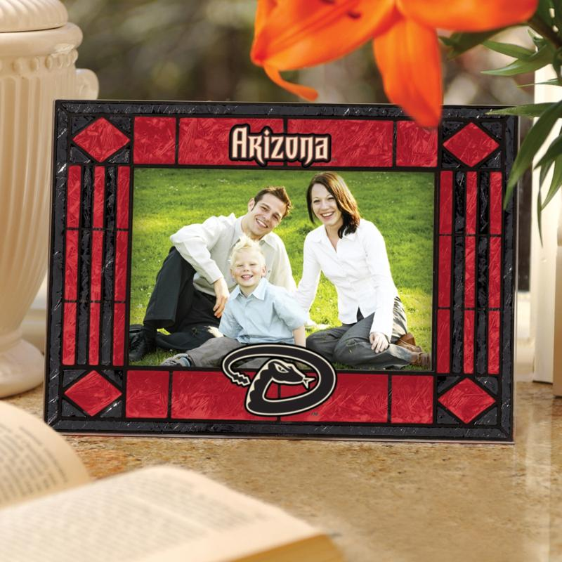 MEMORY Company Sports Team Art Glass Horizontal Picture Frame - Arizona Diamondbacks