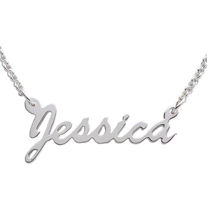 MBM COMPANY Hollywood Script Name Necklace
