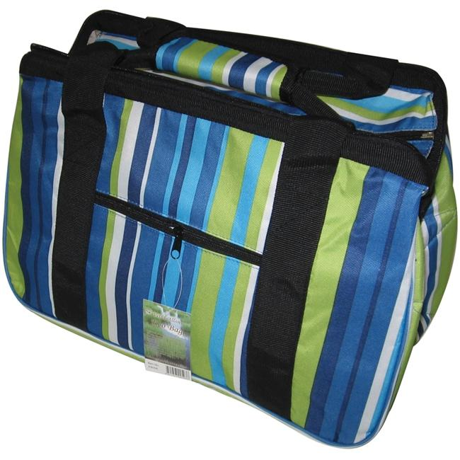JanetBasket JanetBasket Eco Bag - Blue Stripes