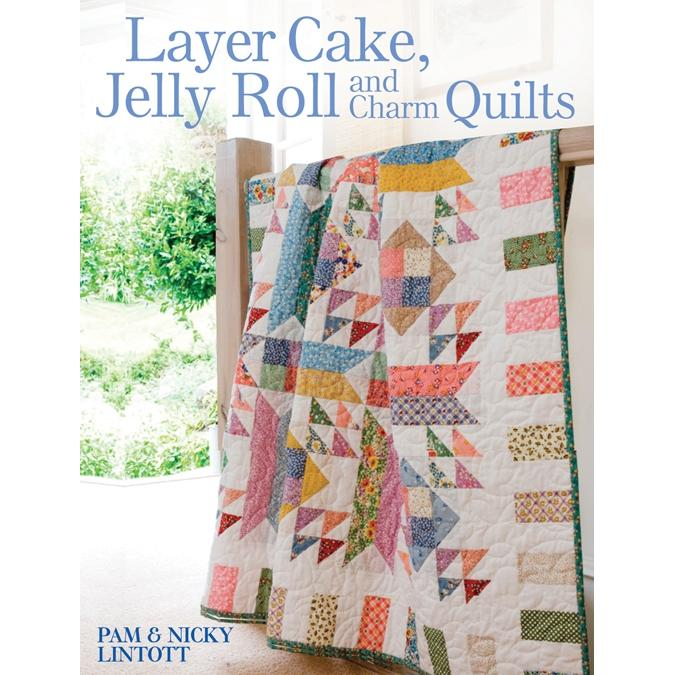 FandW Media Layer Cake, Jelly Roll And Charm Quilts - Book