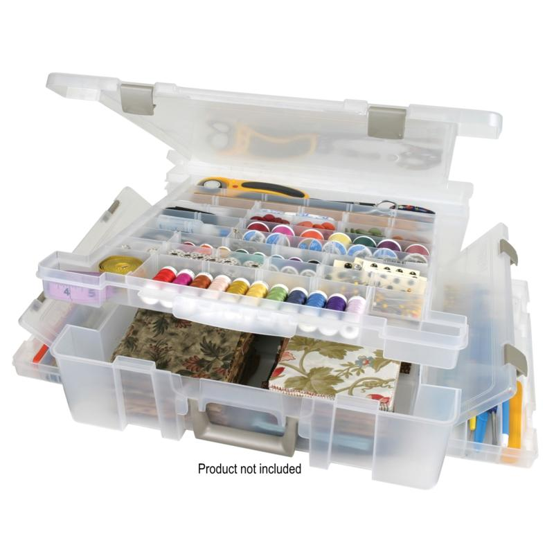 ArtBin Deluxe Translucent Super Satchel with Divided Top