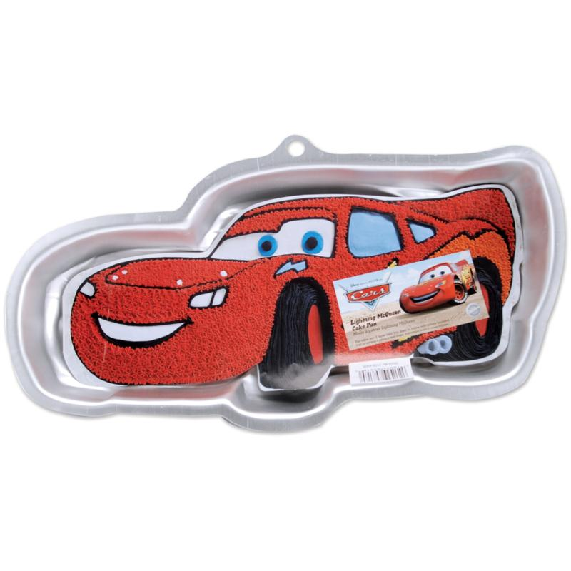 Wilton Novelty Cake Pan - Lightning McQueen