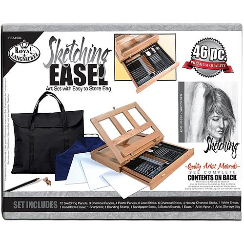 Royal Langnickel Sketching Easel Artist Kit with Storage Bag