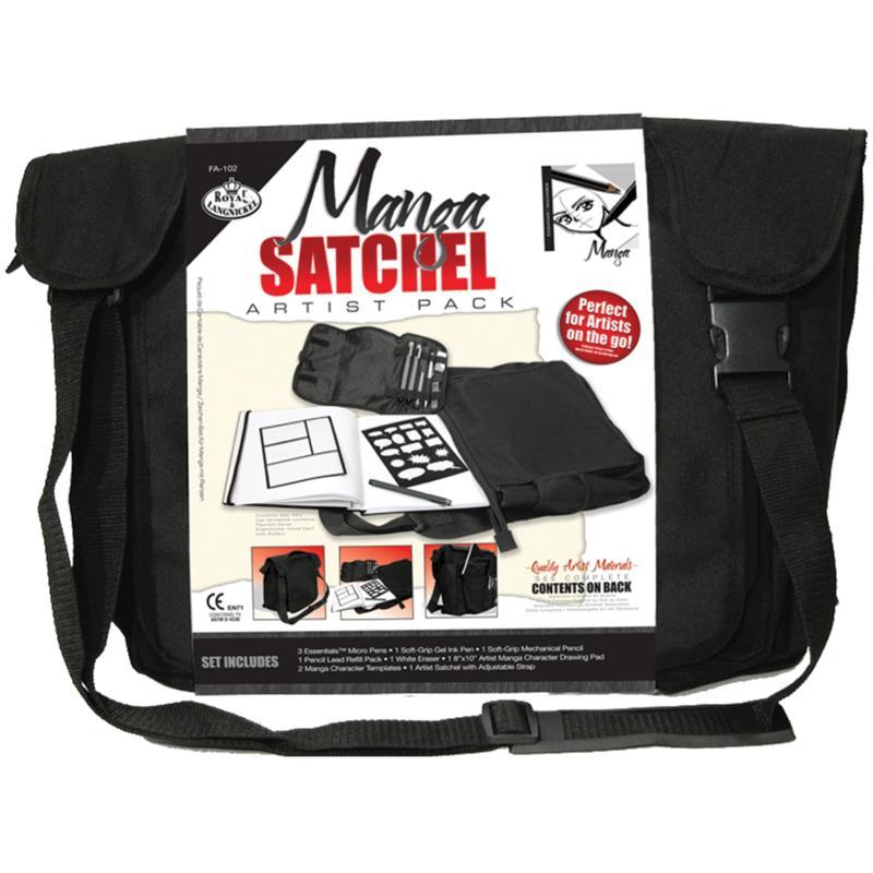 ROYAL BRUSH Royal Langnickel Manga Satchel Artist Pack with Satchel