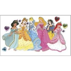 Scrapbooking Disney Princess Le Grande Jewel Dimensional Stickers