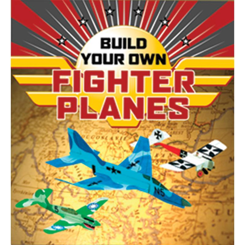 Sterling Publishing Build Your Own Fighter Planes Kit
