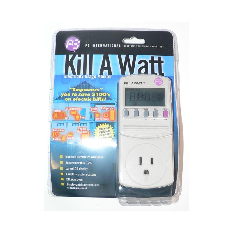 P3 INTERNATIONAL Kill-A-Watt Electric Usage Monitor