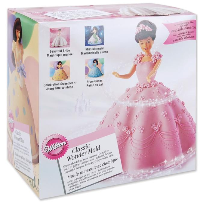 Wilton Mold Kit - Doll Dress