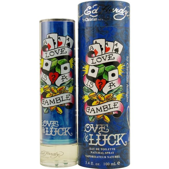 Ed Hardy Ed Hardy 3.4 oz. Love & Luck Eau de Toilette Spray
