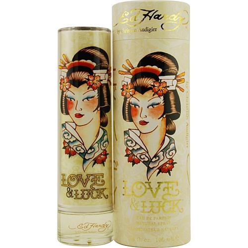 Ed Hardy 3.4 oz. Love & Luck Eau de Parfum Spray for Women
