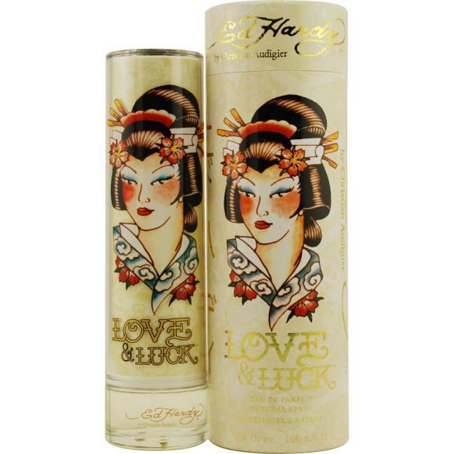 Ed Hardy Ed Hardy 3.4 oz. Love & Luck Eau de Parfum Spray for Women