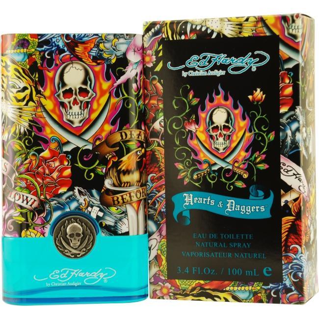 Ed Hardy Ed Hardy Hearts & Daggers - 3.4 oz Eau De Toilette Spray
