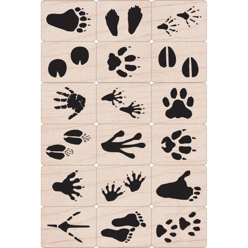 Scrapbooking Hero Arts Ink 'n' Stamp Set - Animal Prints