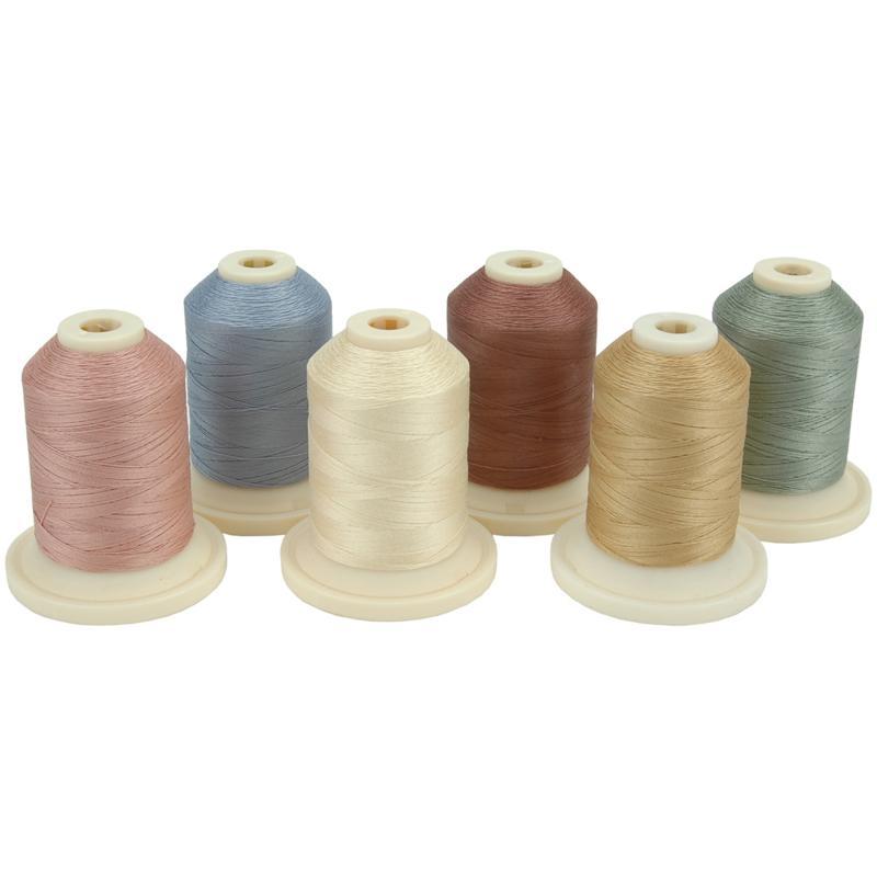 Robison-Anton Mini-King Spools Cotton Thread Collection - Spring