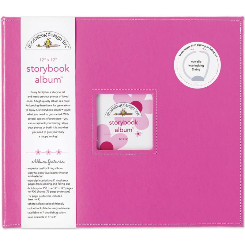 Doodlebug Storybook Album - Bubblegum