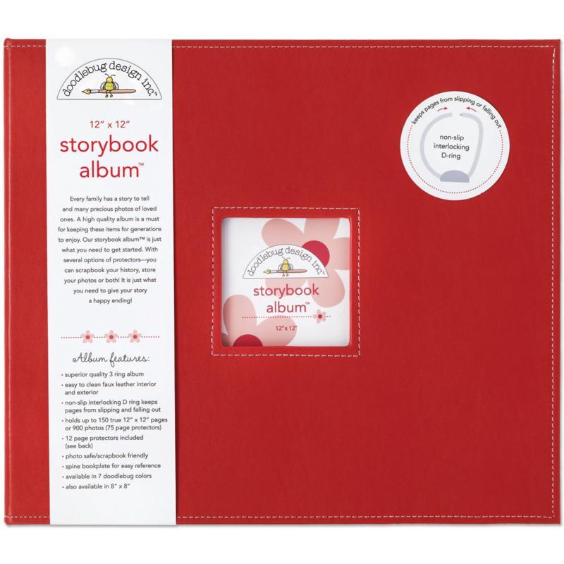 Doodlebug Storybook Album - Ladybug