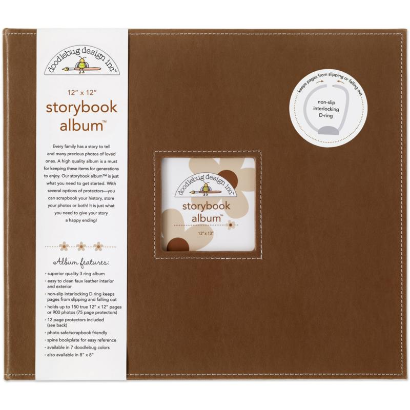 Doodlebug Storybook Album - Bon Bon