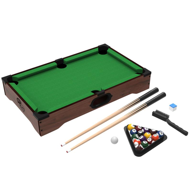 Trademark Global, Inc. Trademark Games Mini Table Top Pool Table with Accessories