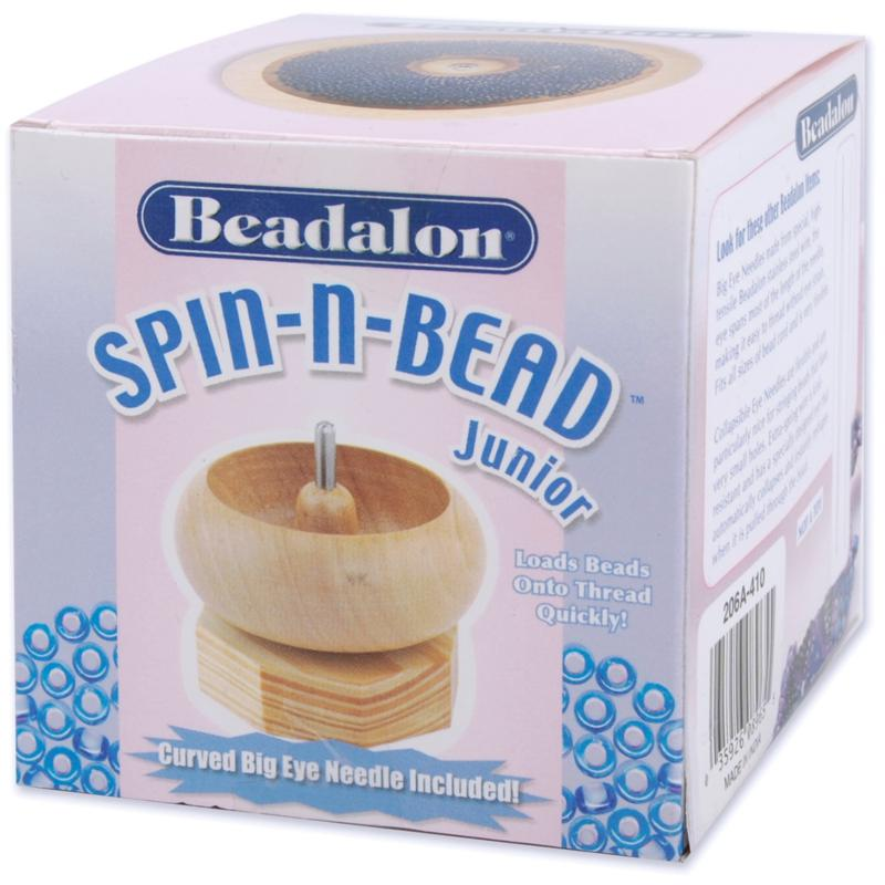 BEADALON Beadalon Spin-n-Bead Loader Junior - Wood