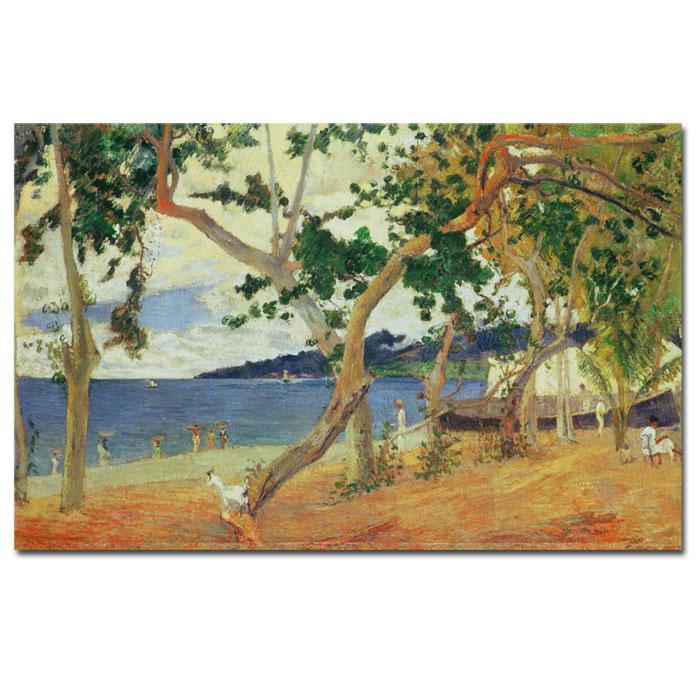 Home Marketplace Giclee Print - By the Seashore Martinique 1887