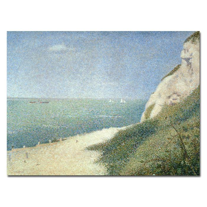 Home Marketplace Giclee Print - Beach at Bas Butin - Honfleur (1886)