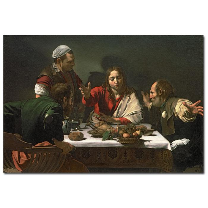 Home Marketplace Giclee Print - The Supper at Emmaus