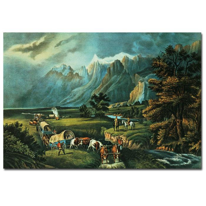 Home Marketplace Giclee Print - Emigrants Crossing the Plains