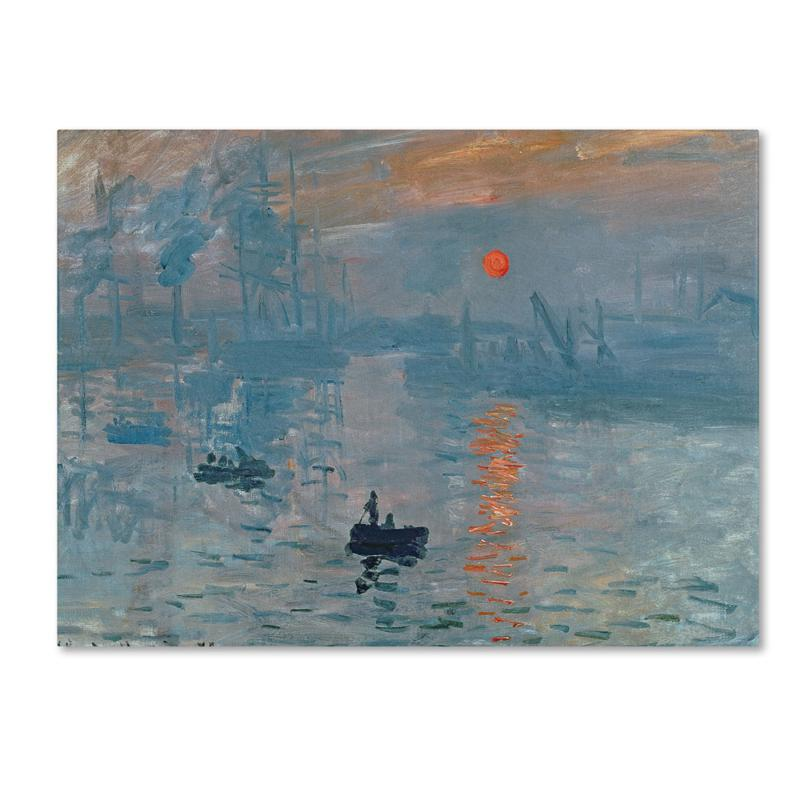 Home Marketplace Giclee Print - Impression Sunrise