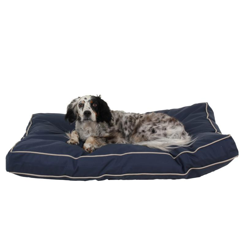 Carolina Pet Company Classic Twill Rectangle Jamison Pet Bed with Contrast Cording - Medium