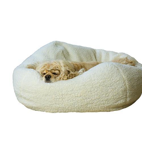 Carolina Pet Company Sherpa Puff Ball® Pet Bed - Small