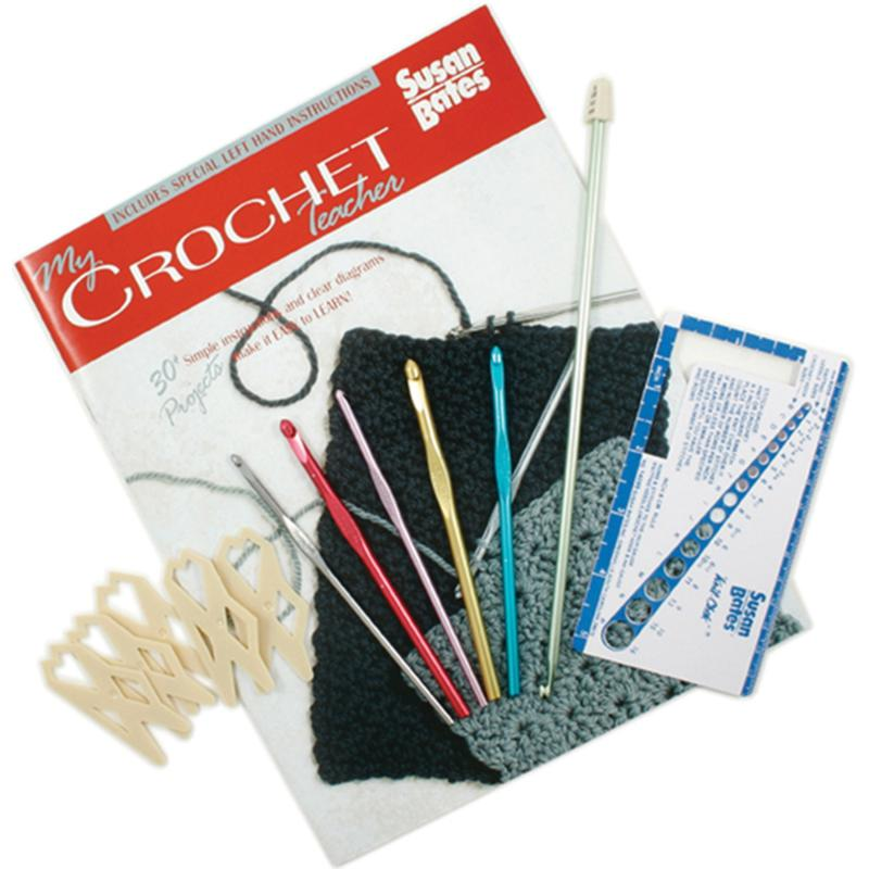 SUSAN BATES My Crochet Teacher Kit by Susan Bates - Left- and Right-Hand Instructions