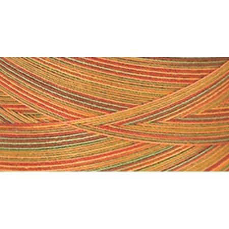 YLI Corporation Star Mercerized Cotton Thread 1200 Yards - Fall Leaves, Variegated