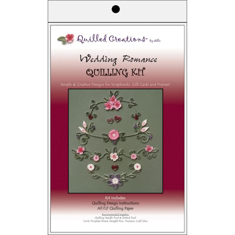 QUILLED CREATIONS Quilled Creations Quilling Kits - Wedding Romance