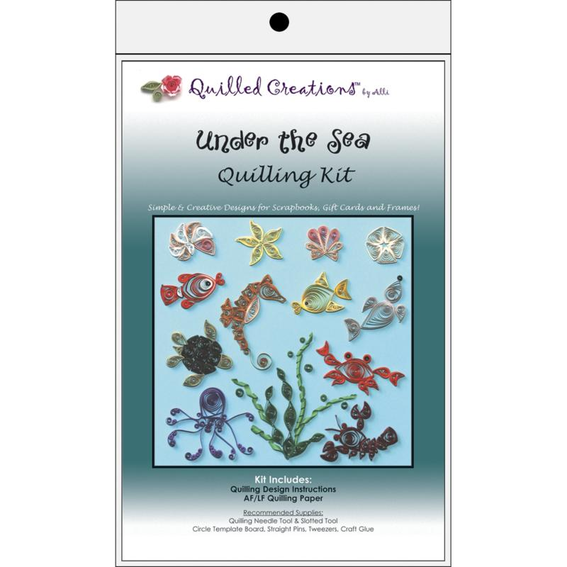 QUILLED CREATIONS Quilled Creations Quilling Kits - Under The Sea