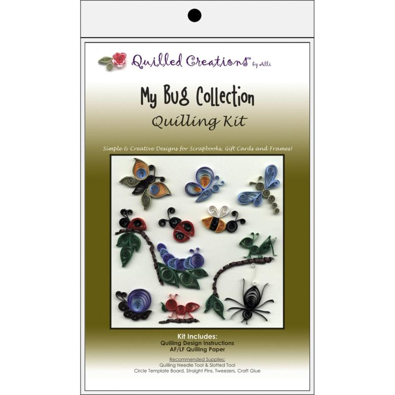 QUILLED CREATIONS Quilled Creations Quilling Kits - My Bug Collection