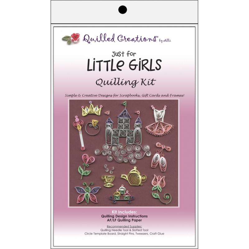 QUILLED CREATIONS Quilled Creations Quilling Kits - Just For Little Girls