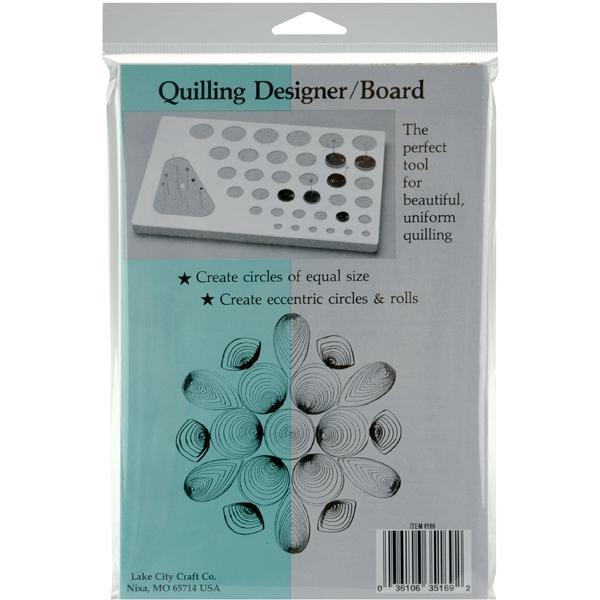 LAKE CITY CRAFT Lake City Craft Quilling Designer Board