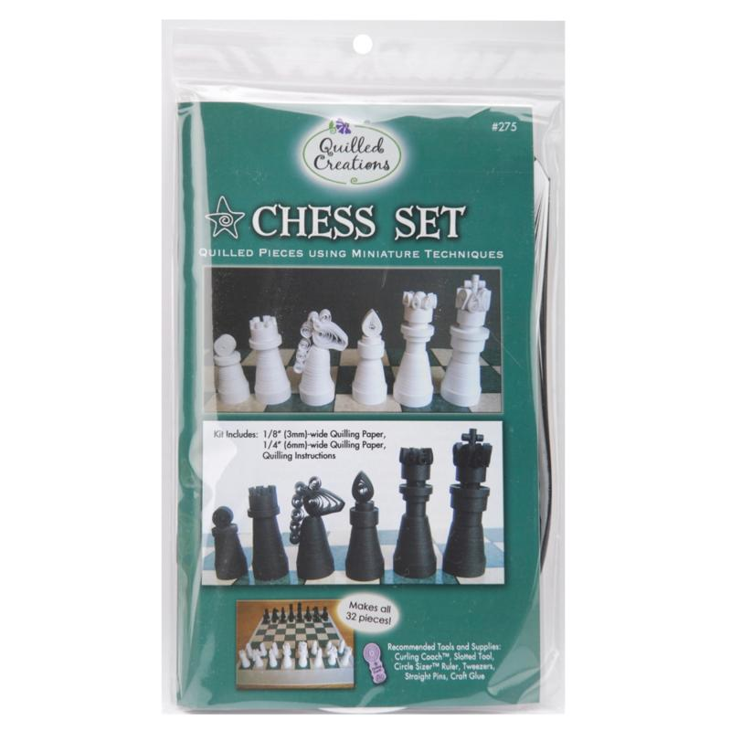QUILLED CREATIONS Quilled Creations Quilling Kit - Chess Set