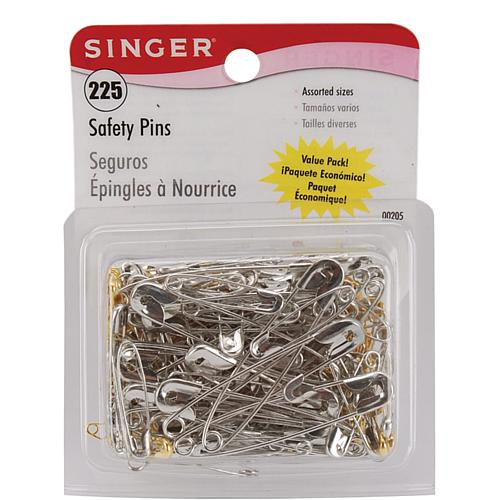 Assorted Safety Pins - 225-pack